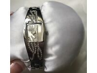 Authentic Guess Silver Watch