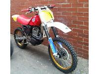 1989 CCM 500 Motocross 4 stroke a rare classic bike