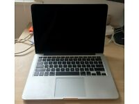 Macbook Pro 13; Late 2013; 8GB RAM; 256GB HD; perfect condition