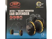 JSP helmet mounted ear defender