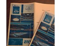 Nitto ATP Finals 2017 (Sunday Final) Block 419 3 Tickets (Seated Together)