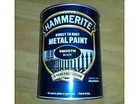 Hammerite metal paint. 5 Litre