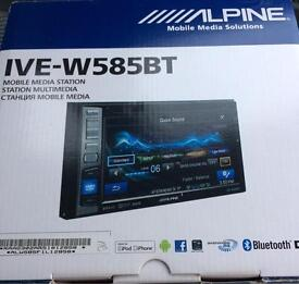 Alpine Headunit IVE-W585BT