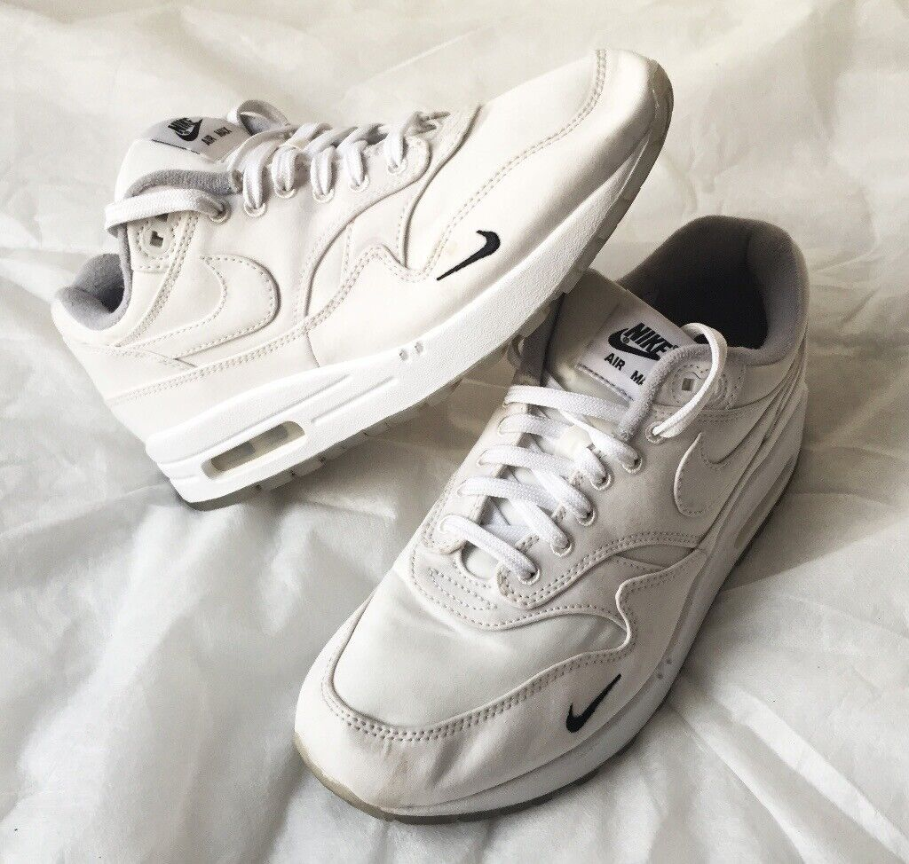 76ac610565394 NIKE Air Max 1 - Dover Street Market DSM X NikeLab Ventile White mens  womens trainers UK 6.5