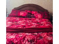 Excellent Double divan bed like new with 4 drawers, headboard and brand new Orthopedic mattress