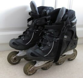 "Salomon Inline Skates (""Rollerblades"") for men, UK size 9.5"