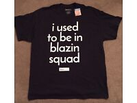 Official Love Island Primark I Used To Be in Blazin Squad Large T-Shirt Blazing