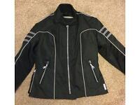 Ladies Motorbike Jacket,Black 12-14 & Red 14-16