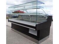 catering equipment / Serve-Over Display Counter (2m) fridge (cake / deli / patisserie)