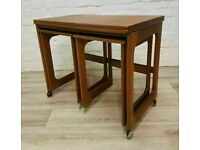 Mcintosh Triform Nest Of Tables (DELIVERY AVAILABLE FOR THIS ITEM OF FURNITURE)