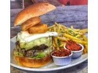 Experienced chef required at The Burger Joint Clifton