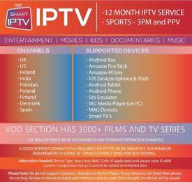1 Year IP-Television