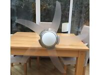 110cm ceiling light and fan with remote control