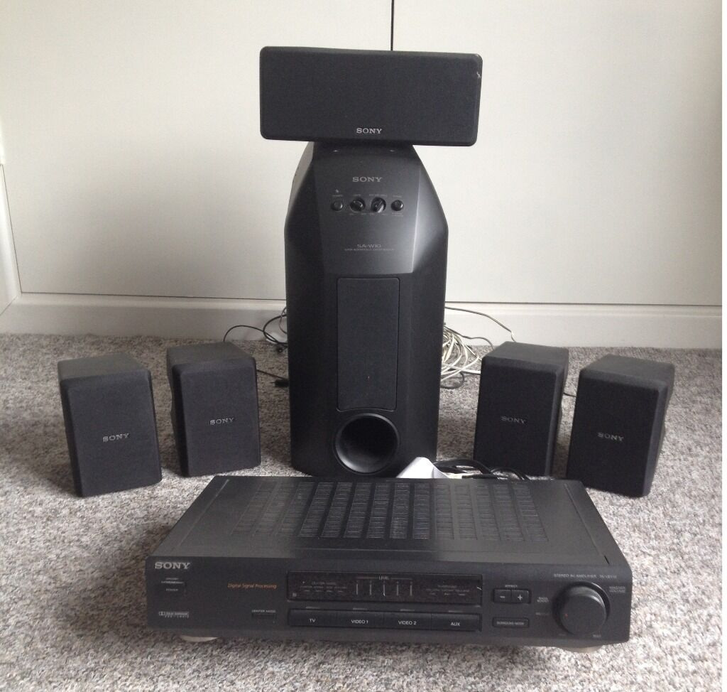 sony 5 1 surround sound system str purchase sale and. Black Bedroom Furniture Sets. Home Design Ideas