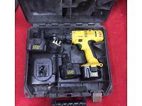 Dewalt 12v Combi Drill with 3 batteries