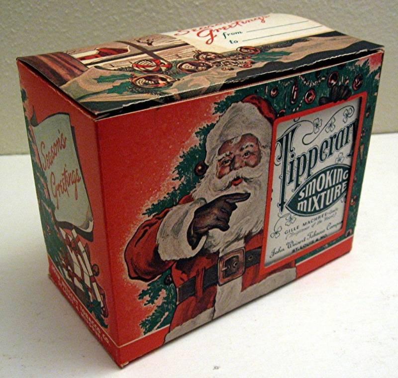 Weisert Tobacco Tipperary Xmas Santa Display St Louis