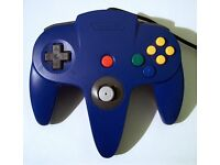 Nintendo 64 Controller Blue