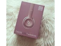 BEATS SOLO 2 WIRELESS HEADPHONES- ROSE GOLD LIMITED EDITION- BRAND NEW