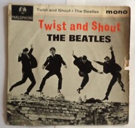 Early Beatles Twist and Shout EP