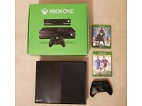 Microsoft Xbox One 500GB Console Boxed + Wireless Controller + 2 Games