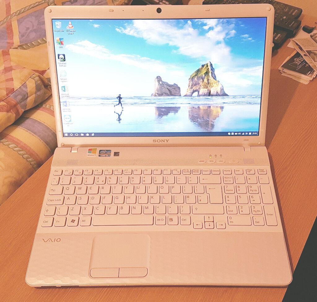 + SONY VAIO Laptop. Large 6GB RAM. High
