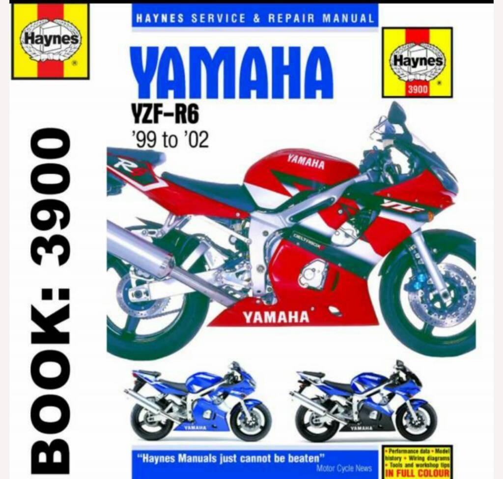 Haynes Manual Yamaha YZF R6 1999 - 2