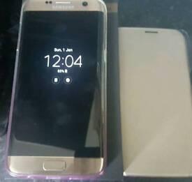 Gold samsung galaxy S7 EDGE 32GB UNLOCKED £350 no offers