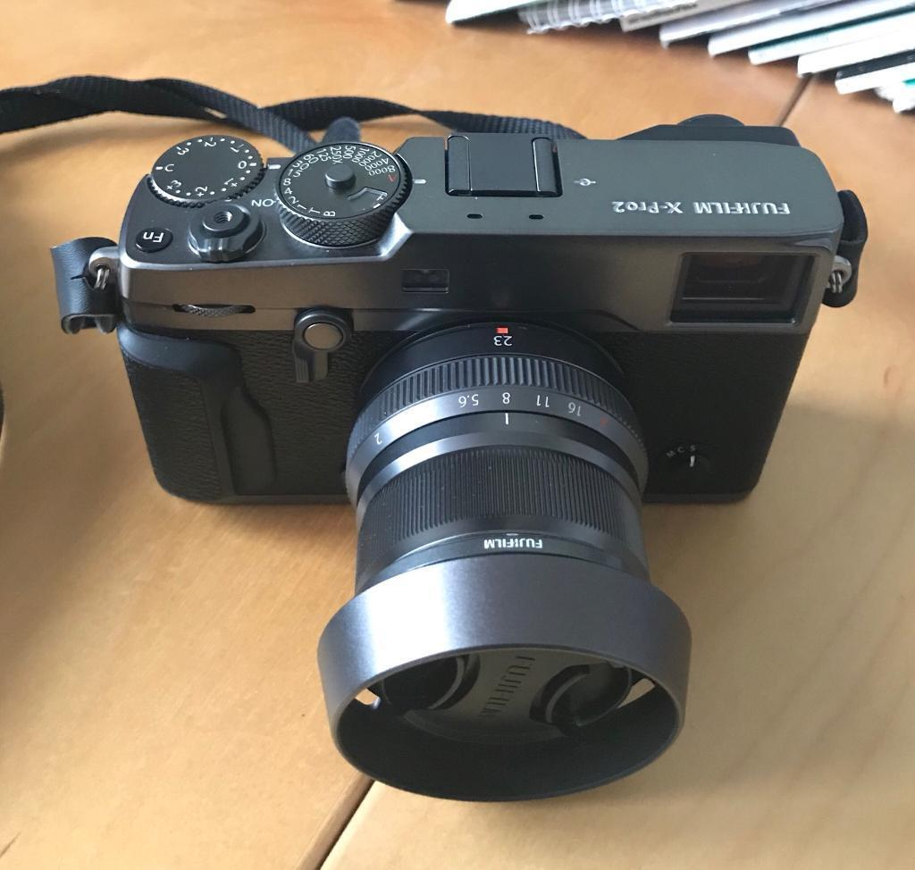 Fujifilm X Pro2 Graphite Edition With Xf23mm F2 R Wr In Xf 23mm