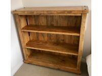 Solid Mango Bookcase