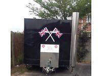 Wilkinsons travel chef 2500 catering trailer burger van food bar for sale Hull