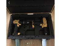 Dewalt drills and case