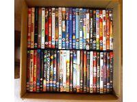 50 DVDs job-lot! £37.50