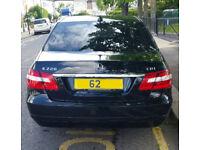 Mercedes E220 SE CDI BlueEFFICIENCY Saloon Black Auto Diesel 41500 miles FMBSH 2012 62reg