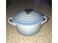 Le Creuset Coastal Blue Mini Casserole Dish