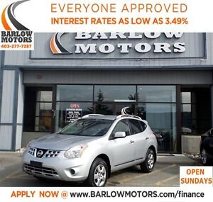 2013 Nissan Rogue S**AMVIC INSPECTION & CARPROOF PROVIDED!