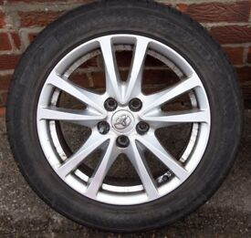 "Toyota Avensis Alloy Wheels 17 ""2009 onwards T27 model."