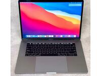 "MACBOOK PRO 15"" 2017 TOUCH BAR MODEL, QUAD CORE i7, 16gb MEM, 500gb SSD, SPACE GREY, MINT CONDITION"