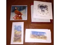 17 Christmas cards - Debenhams ~ M&S ~ Charity - Free to collect
