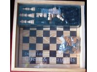 Imagin Deluxe Chess and Draughts, NEW