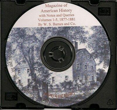 Magazine of American History - Volumes 1, 2, 3, 4 & 5