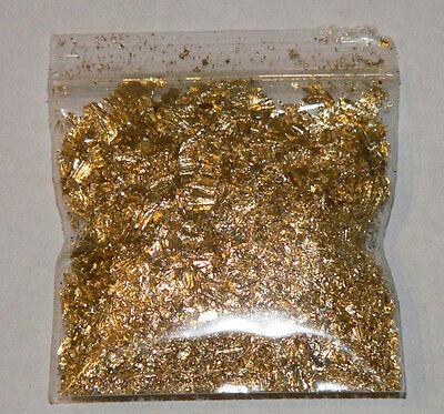 1 Gram Gold Leaf Flake - Huge Beautiful Flakes - The Best Anywhere