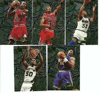 Michael Jordan/ Pippen/Shaq/Malone/D.Robinson 1995-96 Metal