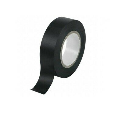 Cinta Adhesivo Aislante Negro 15mm 10m Alambrado Cables Eléctrica Moto Coche