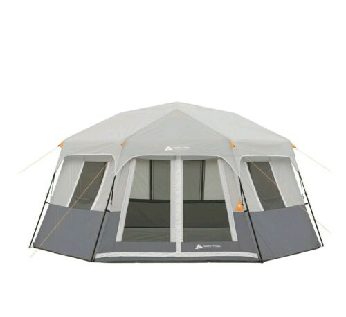 Ozark Trail 8-Person Instant Hexagon Cabin Tent, Easy Set Up
