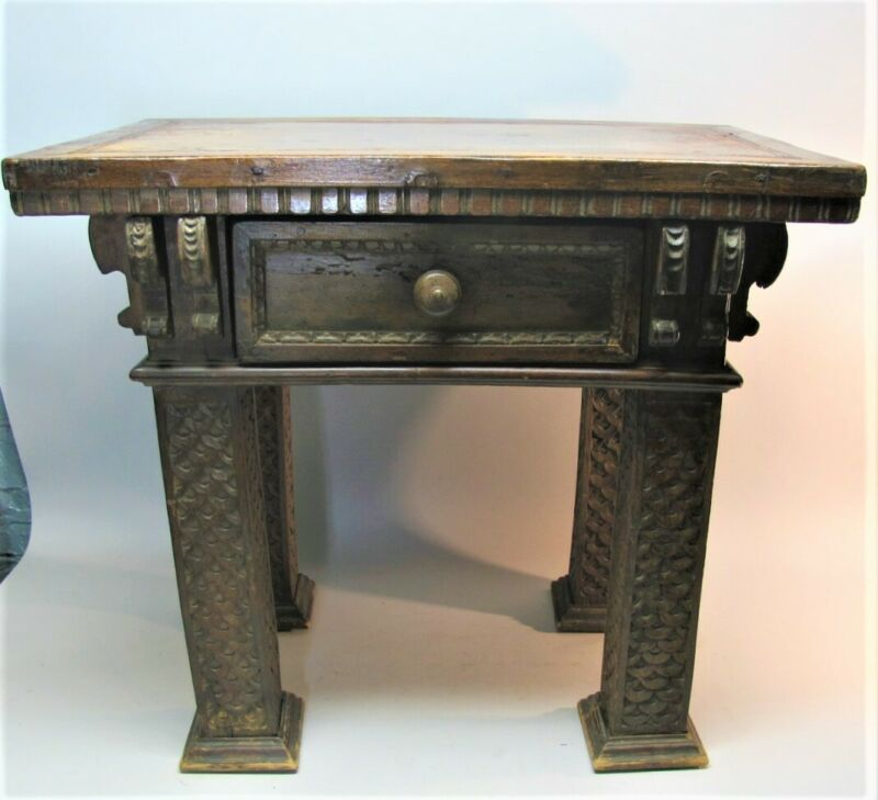 Gorgeous 16th C. NORTHERN ITALIAN RENAISSANCE Credenza Table  c. 1575  antique