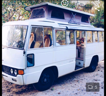 1974 Toyota Coaster campervan