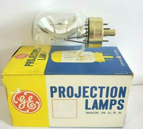 1 NOS GE DHX / DLS / DLG Projector Lamp Bulb 21.5V 150W  AVG 10 Hours