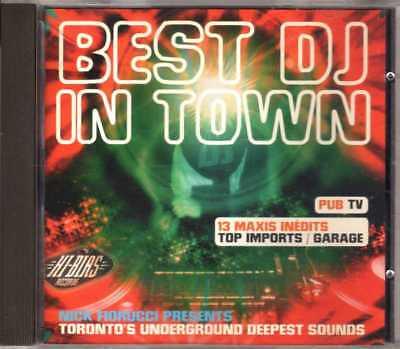Compilation - Best DJ In Town - CD - 1994 - House Musidisc