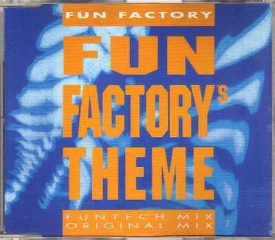 Fun Factory - Fun Factory's Theme - CDM - 1992 - Eurodance 4TR Bülent Aris (Fun Themes)