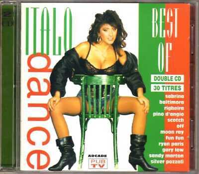 Compilation - Best Of Italo Dance (2 CD) - 1994 - Italo Disco Sabrina